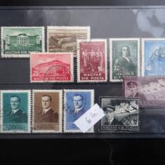 Lot timbre Ungaria-Magyar posta--stampilate