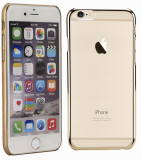 Husa iPhone 6 6S Gold by Astrum, iPhone 6/6S, Auriu, Plastic, Apple