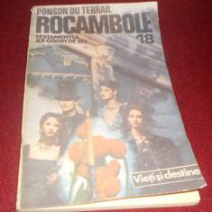 PONSON DU TERRAIL - ROCAMBOLE 18 - Carte de aventura