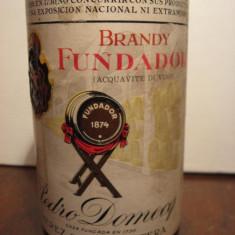 Brandy fundador, pedro domecq, jeres de la frontera espana, cl 75 gr 40 ani 1960 - Cognac