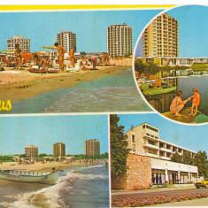 CPI (B6140) CARTE POSTALA - VENUS. VEDERE DE PE PLAJA, HOTEL