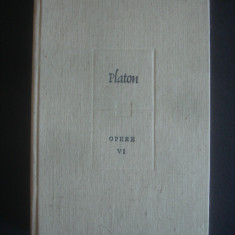 PLATON - OPERE  volumul 6, Alta editura