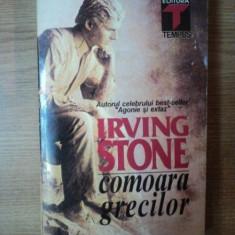COMOARA GRECILOR de IRVING STONE, 1995 - Carte in alte limbi straine