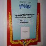 Diploma M.A.N. - R.S.R. - Militar de Frunte ~1~ - Diploma/Certificat