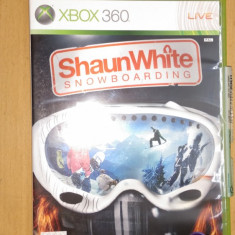 Joc XBOX360 Shaun White Snowboarding - Jocuri Xbox 360, Sporturi, 3+
