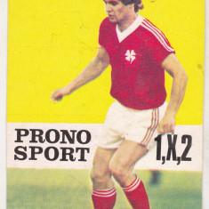 bnk cl Calendar de buzunar 1985 Pronosport