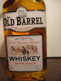 Whisky - Whiskey old barrel, american blended, genuine quality, cl.70 gr.40