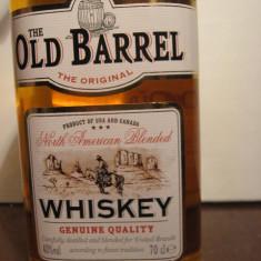 Whisky - Whiskey old barrel, american blended, genuine quality, cl.70 gr.40