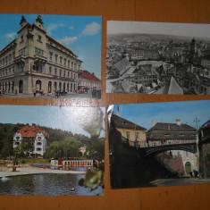 C.P. SIBIU / OCNA SIBIULUI - CARTI POSTALE LOT 4 BUCATI, Ambele, Fotografie, Romania de la 1950