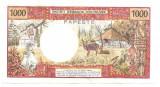 TAHITI BANQUE DE L'INDOCHINE PAPEETE 1000 FRANCS FRANCI ND( 1996) F