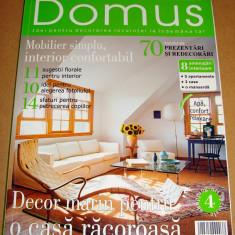 Revista DOMUS / anul VII Nr. 6 iunie 2006 - Revista casa