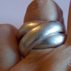 Inel argint impletit, model masiv - 205