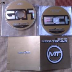 Mega techno 2 cd vol 2 si vol 3 muzica techno compilatie editie vest cd disc - Muzica House