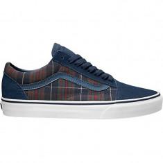 Shoes Vans Old Skool Distressed plaid dress blues - Tenisi barbati Vans, Marime: 40