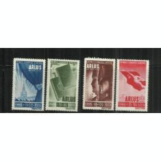 ROMANIA  1945 - PRIMUL CONGRES GENERAL ARLUS - LP 171 - MNH