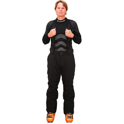 Pantaloni Blizzard Performance negri foto