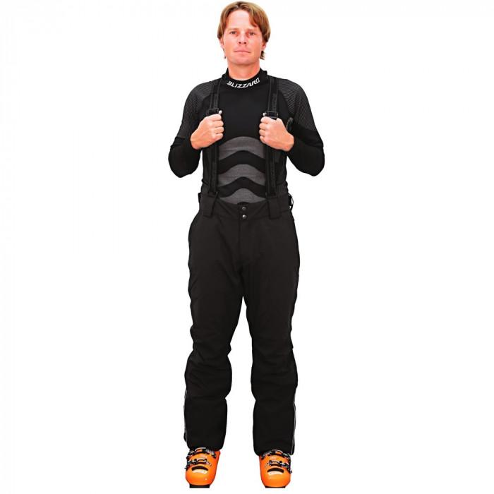 Pantaloni Blizzard Performance negri foto mare