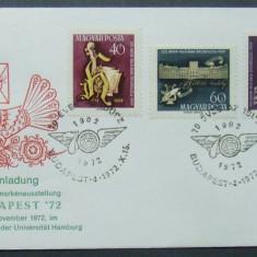 UNGARIA 1972 - MUZICIANUL JOSEPH HAYDN, 1 FDC OBLITERAT - IM 0555, An: 1994