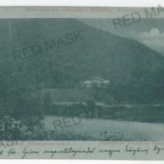 3369 - Litho, Maramures, Cabana Printului Rudolf - old postcard - used - 1900 - Carte Postala Maramures pana la 1904, Circulata, Printata
