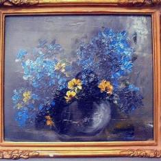Maria Bacaloglu 1878-1934 tablou panza ulei semnat pictura, negociabil
