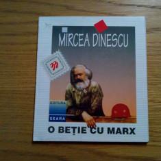 O BETIE CU MARX - Mircea Dinescu - 1996, 53 p. - Carte poezie