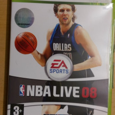 Joc XBOX360 NBA Live 08 - Jocuri Xbox 360, Sporturi, 3+