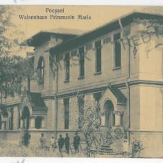 3380 - Moldova, Vrancea, FOCSANI, Caminul de copii - old PC, CENSOR - used 1917 - Carte Postala Moldova 1904-1918, Circulata, Printata
