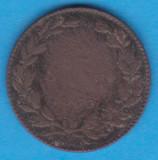 (MR16) MONEDA ROMANIA - 2 BANI 1867