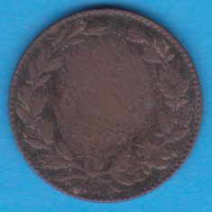 (MR16) MONEDA ROMANIA - 2 BANI 1867