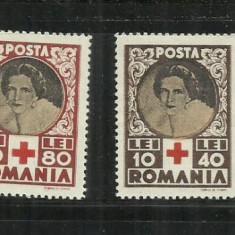 ROMANIA 1945 -CRUCEA ROSIE -LP 165 M.N.H. - Timbre Romania, Nestampilat