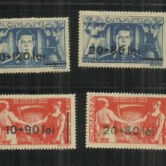 ROMANIA  1946 - FRONTUL PLUGARILOR, SUPRATIPAR, MNH - LP 189