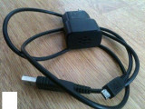 Incarcator BlackBerry Curve 8320 +cablu de date,ORIGINAL, De priza