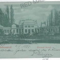 3375 - Litho, CLUJ - old postcard - used - 1899 - Carte Postala Transilvania pana la 1904, Circulata, Printata