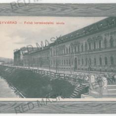 3371 - Bihor, ORADEA - old postcard - used - 1911 - Carte Postala Crisana 1904-1918, Circulata, Printata