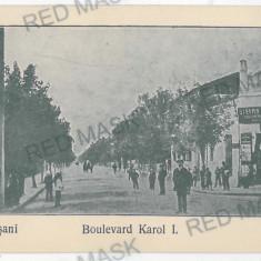 3379 - Moldova, Vrancea, FOCSANI, Carol Ave. - old postcard - unused - Carte Postala Moldova 1904-1918, Necirculata, Printata