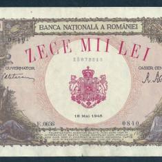 ROMANIA 10000 10.000  LEI   18  MAI   1945  [5]  XF++