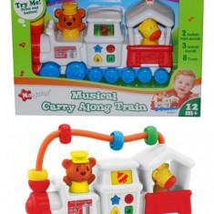 Locomotiva Muzicala Pentru Bebelusi Cu 8 Melodii - Trenulet