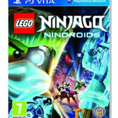 Lego Ninjago Nindroids Ps Vita, Actiune, 3+, Single player