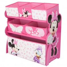 Organizator Jucarii Cu Cadru Din Lemn Disney Minnie Mouse - Set mobila copii