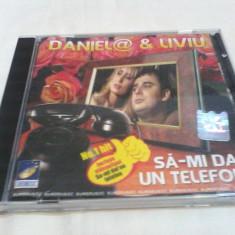 DUBLU DISC MANELE DANIELA & LIVIU SA-MI DAI UN TELEFON/ AM O MAMA CE-O IUBESC - Muzica Lautareasca, VINIL