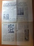 ziarul informatia bucurestiului 7 septembrie1976-foto artera comerciala lipscani