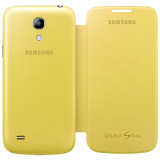 Husa Samsung Galaxy S4 Mini i9190 Flip Case EF-FI919BG Yellow Originala