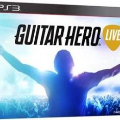 Guitar Hero Live With Guitar Controller Ps3 - Jocuri PS3 Activision