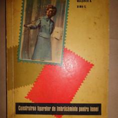 Construirea tiparelor de imbracaminte pentru femei - Waldner H., Dima C. - Carte design vestimentar
