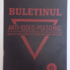 BULETINUL ANTI IUDEO MASONIC, ANUL I, 1930