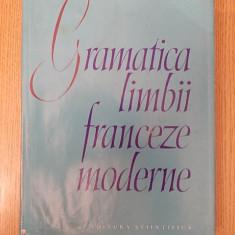 GRAMATICA LIMBII FRANCEZA MODERNE- BRAESCU, SARAS- CARTONATA, SUPRACOPERTA - Curs Limba Franceza