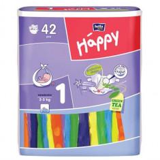 Scutece Happy 1 Newborn (2-5 Kg) 42 Buc - Scutece unica folosinta copii