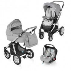 Baby Design Dotty 07 grey 2015 - Carucior 3 in 1 - Carucior copii Landou