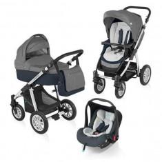 Baby Design Dotty 10 graphite 2015 - Carucior 3 in 1 - Carucior copii Landou