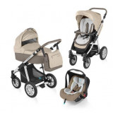 Baby Design Dotty 09 beige 2015 - Carucior 3 in 1